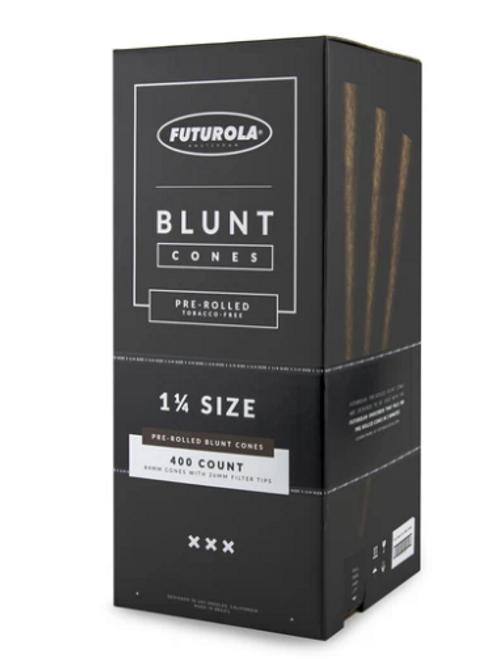 Futurola Cones 1 1/4 Size Blunt Cones 400 CT