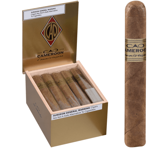 CAO Cigars L'Anniversaire Cameroon Robusto 20 Ct. Box 5.00X50