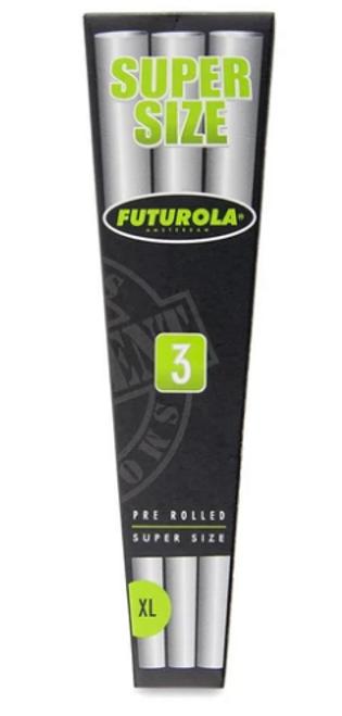 Futurola Cones Super Size - 3pk