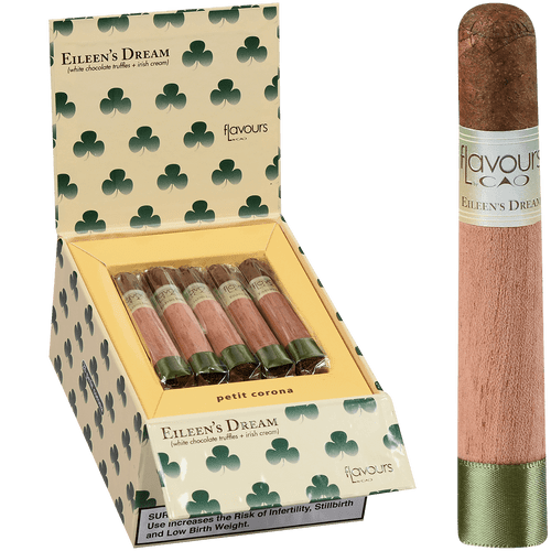 CAO Cigars Flavours Eileen's Dream Petite Corona 25 Ct. Box 4.00X38