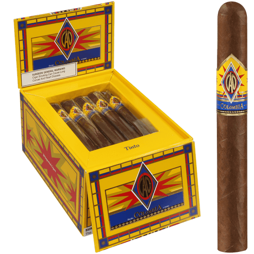 CAO Cigars Colombia Tinto 20 Ct. Box 5.00X50