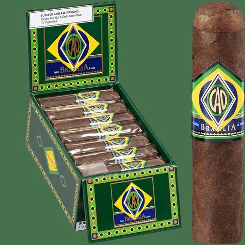 CAO Cigars Brazilia Corcovado 20 Ct. Box 4.50X60