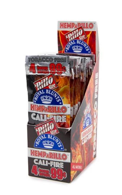 Royal Blunts Hemparillo Hemp Wraps Cali Fire