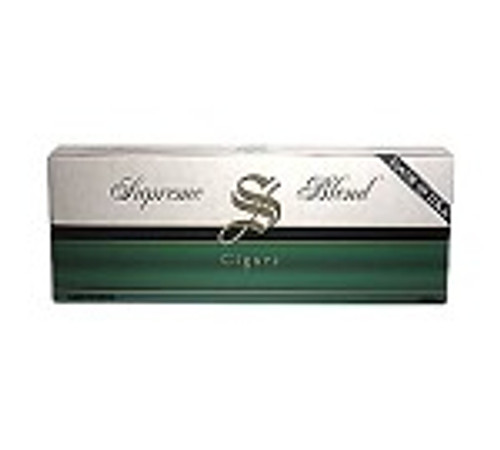 Supreme Blend Filtered Cigars Menthol