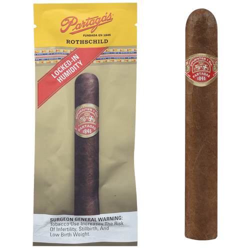 Partagas Cigars Freshness Pack Rothschild 6 Ct Box 5.50x49
