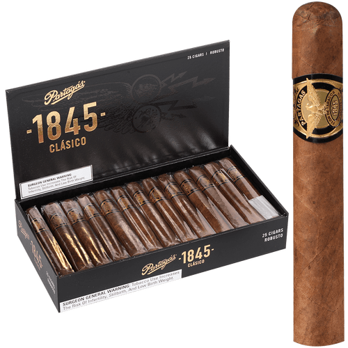 Partagas Cigars 1845 Clasico Robusto 25 Ct. Box 5.00X50