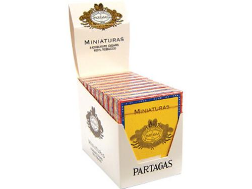 Partagas Cigars Miniature 10/8 Packs 3.75X24