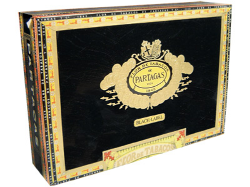 Partagas Cigars Black Label Piramide 20 Ct. Box 6.00X60