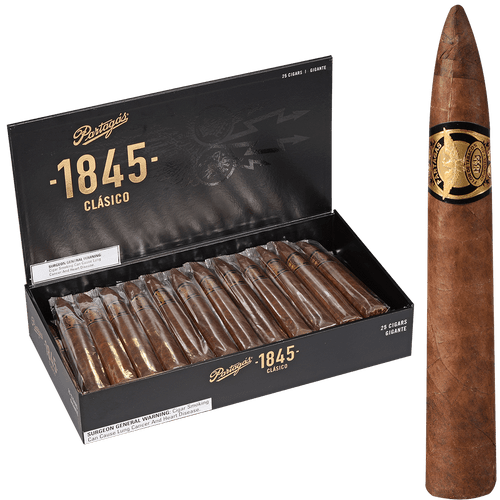 Partagas Cigars 1845 Clasico Gigante 25 Ct. Box 6.00X60