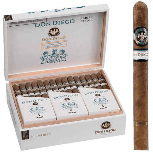 Don Diego Cigars Babies EMS 60 Ct. Box 5.07X33
