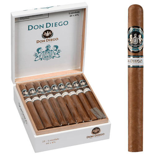 Don Diego Cigars Lonsdale EMS 25 Ct. Box 6.63X44