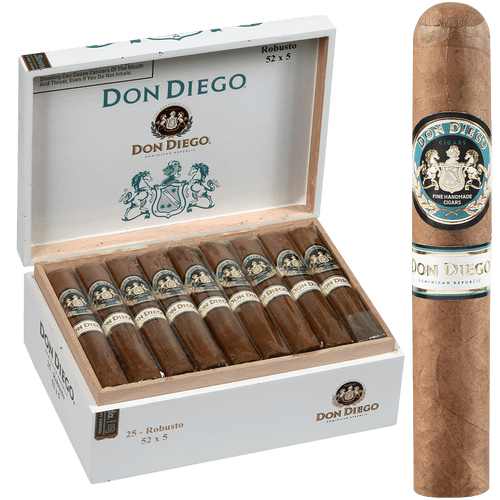 Don Diego Cigars Robusto 25 Ct. Box 5.00x52