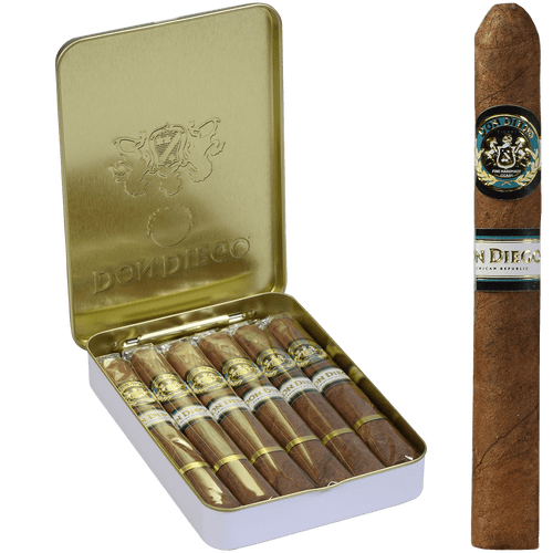 Don Diego Cigars Preludes 5/10 Tins 4.00X30