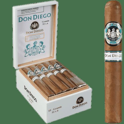 Don Diego Cigars Grande 15 Ct. Box 6.00X52