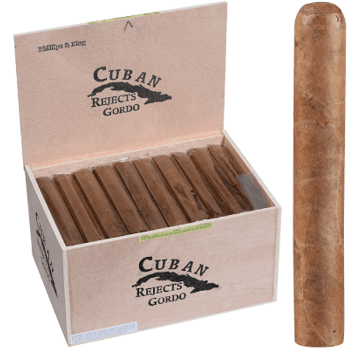 Cuban Rejects Cigars Toro Gordo Natural 50 Ct Box