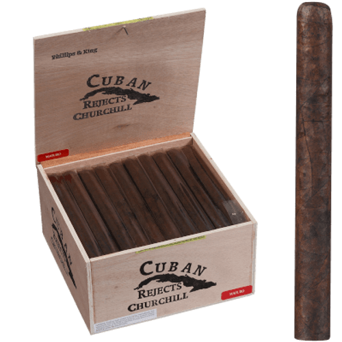 Cuban Rejects Cigars Churchill Maduro 50 Ct. Box