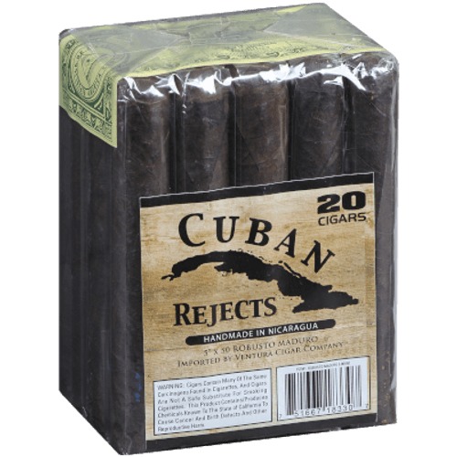 Cuban Rejects Cigars Robusto Maduro 20 Ct. Bundle