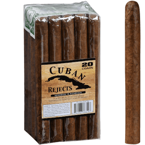 Cuban Rejects Cigars Churchill Natural 20 Ct Bundle