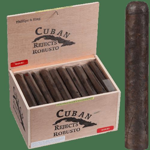 Cuban Rejects Cigars Robusto Maduro 50 Ct. Box