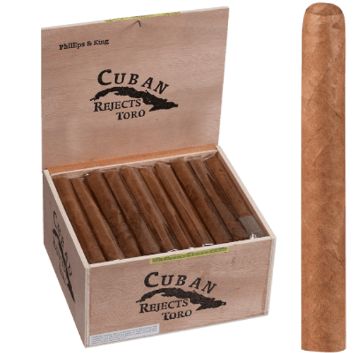 Cuban Rejects Cigars Toro Natural 50 Ct. Box