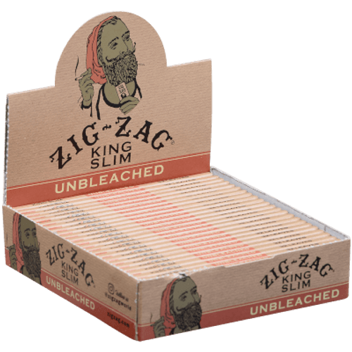 Zig Zag Unbleached King Size Papers