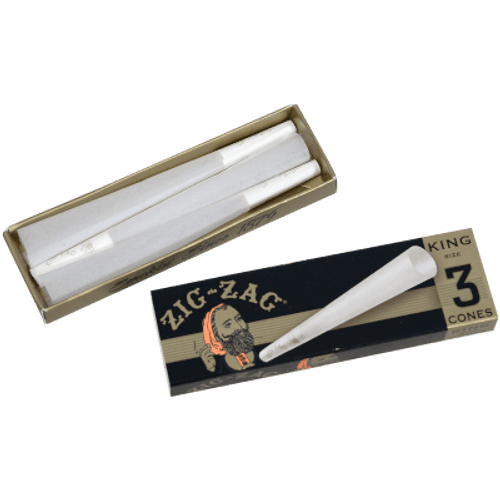 Zig Zag Cone King Size Papers 24 Ct. Box