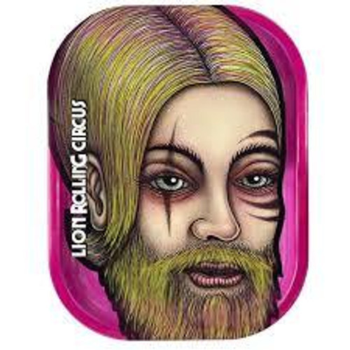 Lion Rolling Circus Mini Rolling Tray- Pink Beard Character