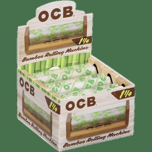 OCB Bamboo Rolling MachineRoller 1 1/4 6 Ct. Box