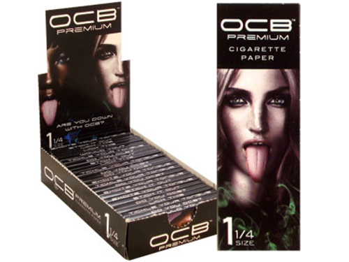 OCB PAPERS OCB PREMIUM 1 1/4 76X43 MM 24/24 CT. BOX