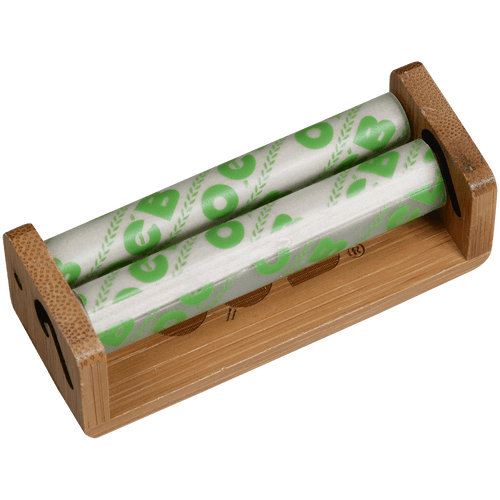 OCB Bamboo Rolling Machine Single Wide Roller 6 Ct. Box