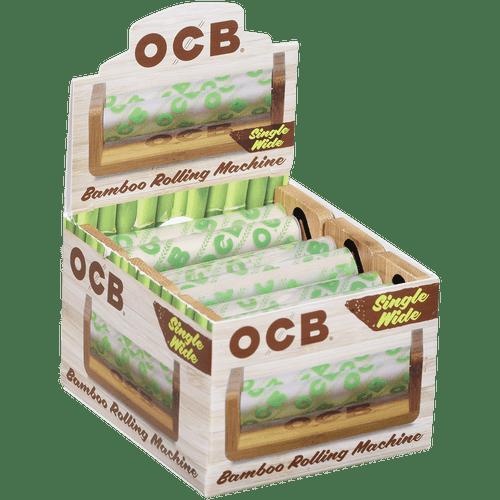 OCB Bamboo Rolling Machine Single Wide Roller 6 Ct. Box