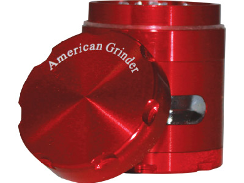 "American Grinder Grinder 1.5"" Four Piece W/Chamber Window"