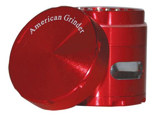 "American Grinder Grinder 2.0"" Four Piece W/Chamber Window"