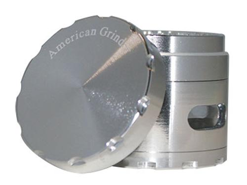 "American Grinder Grinder 2.5"" Four Piece W/Chamber Window"