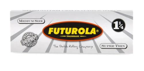Futurola Super Thin 1 1/4 Rolling Papers - 25ct
