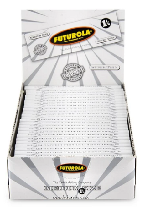 Futurola Super Thin 1 1/4 Rolling Papers - 25ct