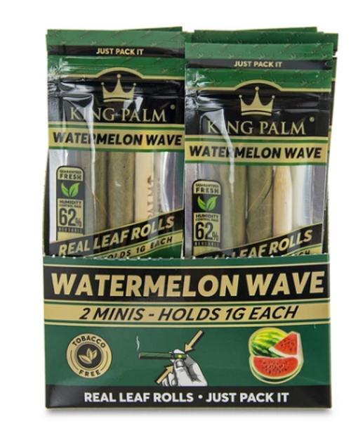 King Palm Wraps Mini Watermelon Wave 20Ct/2