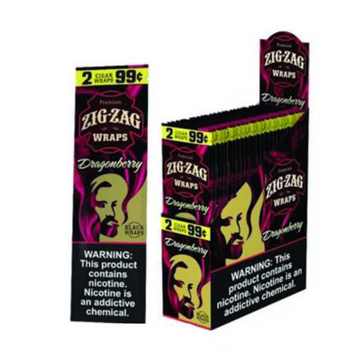 Zig Zag Wraps Dragon Berry 2 for 99c