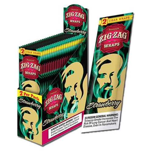 Zig Zag Wraps Strawberry 2 for 99c