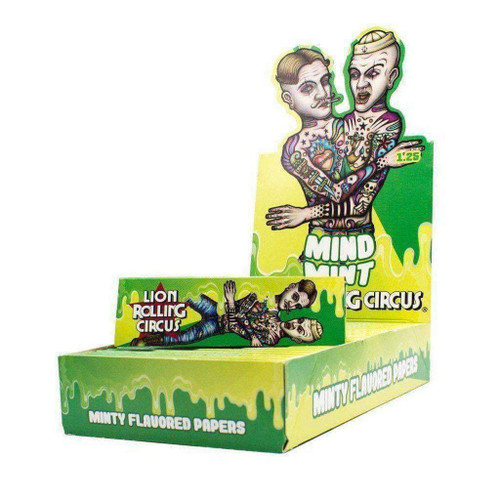"Lion Rolling Circus 1 1/4""Mind Mint Rolling Papers"
