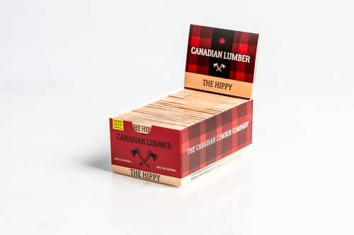 Canadian Lumber The Hippy Rolling Papers 1 1/4 With Filters 22 Packs
