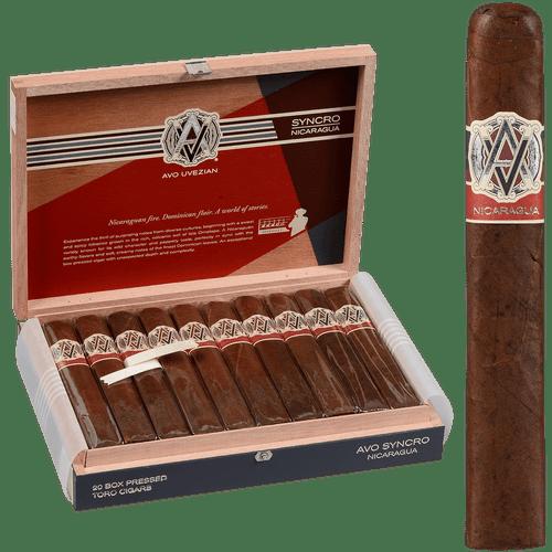 AVO Cigars Syncro Nicaragua Toro 20 Ct. Box 6.00X54