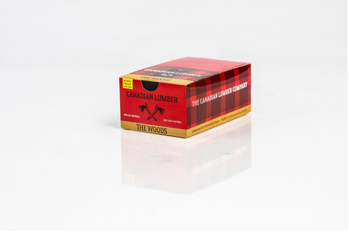 Canadian Lumber The Woods Rolling Papers 1 1/4 With Filters 22 Packs