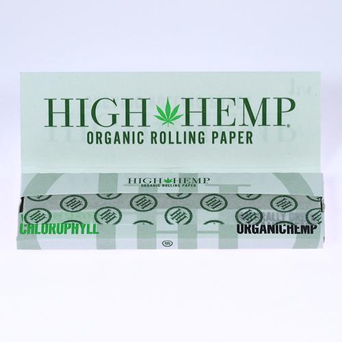 High Hemp Organic Wraps 1 1/4 Rolling Papers 25/32