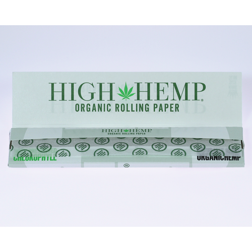 High Hemp Organic Wraps King Size Rolling Papers 25 Booklets