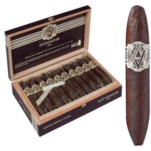 AVO Cigars Domaine <20> Short Perfecto 20 Ct. Box 4.63X50