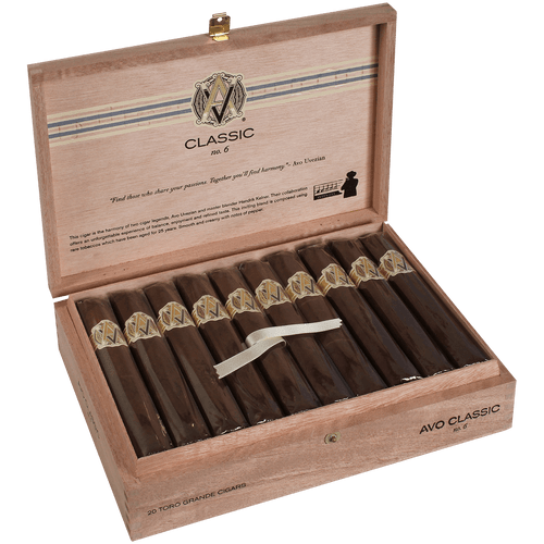 AVO Cigars Classic No. 6 Toro Grande 20 Ct. Box 6.00X60