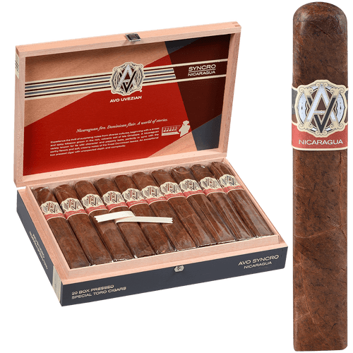 AVO Cigars Syncro Nicaragua Special Toro 20 Ct. Box 6.00X60
