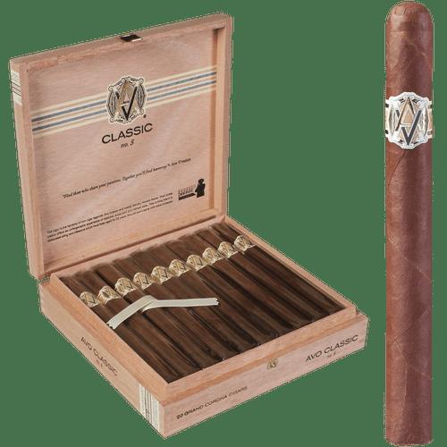 AVO Cigars Classic No. 5 Grand Corona 20 Ct. Box 6.88X46
