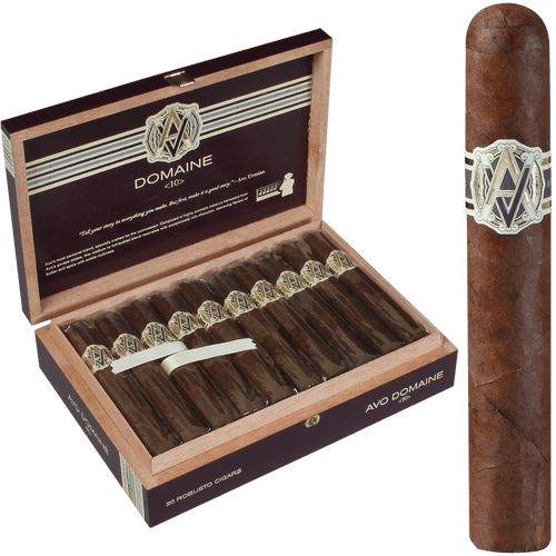 AVO Cigars Domaine <10> Robusto 20 Ct. Box 5.00X50